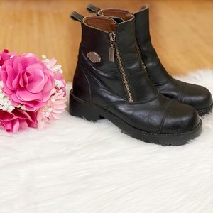 Harley Davidson Amherst Motorcycle Boots